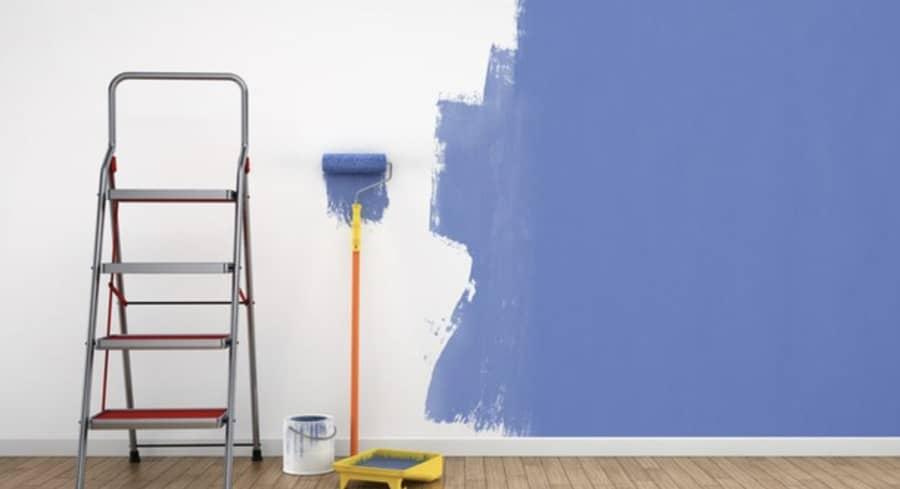 Sonhar pintando parede
