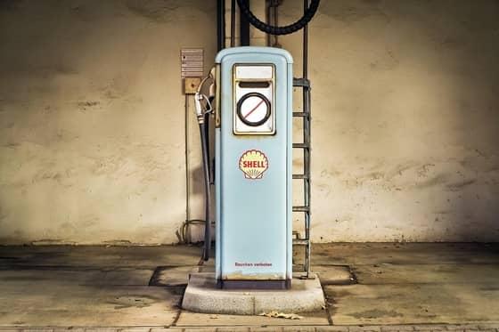 posto de gasolina desativado