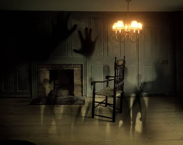 Casa com espíritos