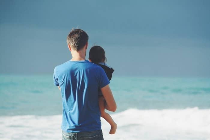 ex-namorado ou marido sendo pai